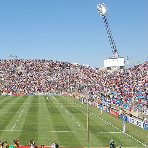 Grasmat van het Stade Vélodrome