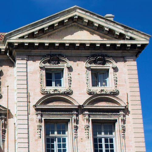 Stuk van het Stadhuis van Marseille