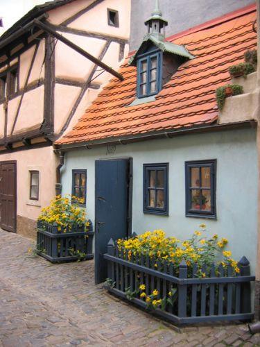 Huisje in het Gouden Straatje