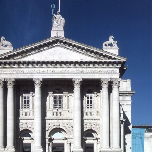 Gevel van het Tate Britain