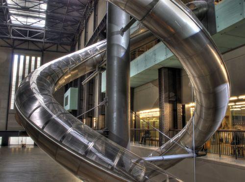 Constructie in het Tate Modern