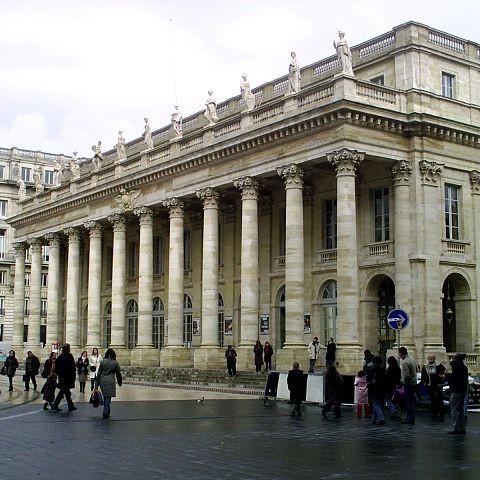Voorkant van het Grand Théâtre