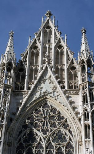 Dak van de Votivkirche