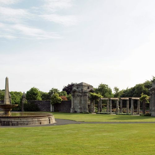 Zicht over de War Memorial Gardens