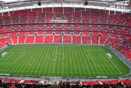 Grasmat van Wembley