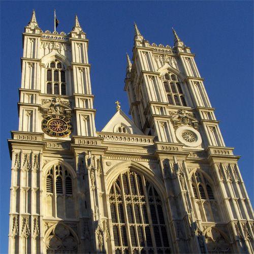 Voorkant van Westminster Abbey
