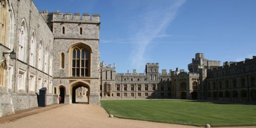 Binnenplein van Windsor Castle