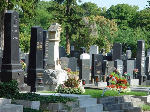 Graven op het Zentralfriedhof