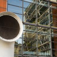 Detail van het Centre Pompidou