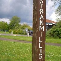 Merkpaal van Stranmillis