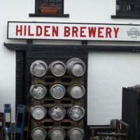 Biertonnen aan Hilden Brewery