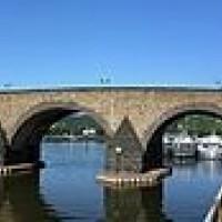 Balduinbrug naar Alte Burg