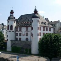 Vooraanzicht van Alte Burg