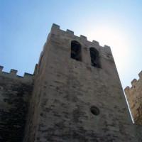 Onder aan de Abbaye de Saint-Victor