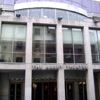 Ingang van Abbey Theatre