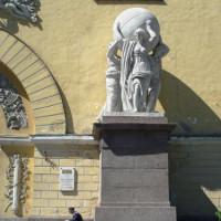 Standbeeld voor de Admiraliteit
