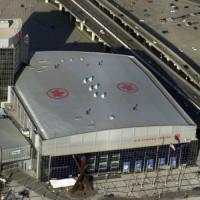 Luchtbeeld van het Air Canada Centre