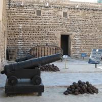 Kanon in het Al Fahidi-fort