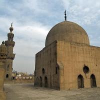 Dak van de Al-Maridani-moskee