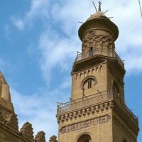 Toren van de Al-Nasir Muhammad Madrasa