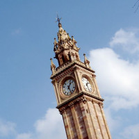 Top van de Albert Memorial Clock Tower