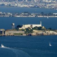 Overzicht van Alcatraz