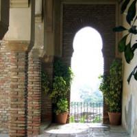 Poort in het Alcazaba