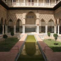 Binnen in de Reales Alcázares