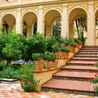Trappen in de Reales Alcázares