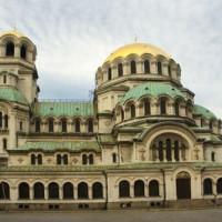 Koepel op de Alexander Nevski-kathedraal