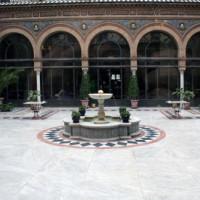 Binnenplein van het Hotel Alfonso XIII