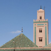 Minaret van de Ali ben Youssef-moskee