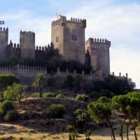 Totaalbeeld van het Kasteel van Almodóvar del Río