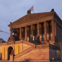 Voorkant van de Alte Nationalgalerie