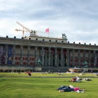 Totaalbeeld van het Altes Museum