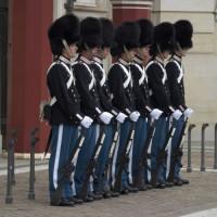 Wachters bij de Amalienborg