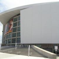Trappen aan de American Airlines Arena