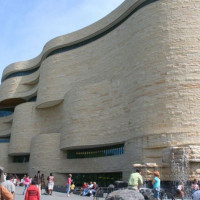 Gevel van het National Museum of the American Indian