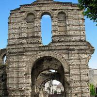 Ruïne van het Amfitheater van Bordeaux