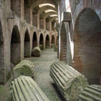 In het Amfitheater van Pozzuoli