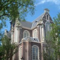 Achterkant van de Oude Kerk
