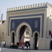 Poort in de Ancienne Medina