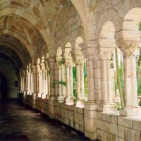 Gang in het Spaans klooster