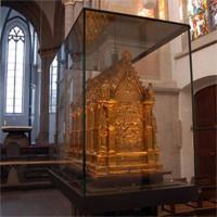 Religieus voorwerp in de St. Andreas Kirche