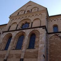 Buitenkant van de St. Andreas Kirche