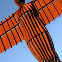 Detail van de Angel of the North