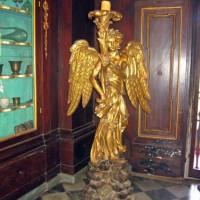 Beeld in de Santa Maria Novella-apotheek