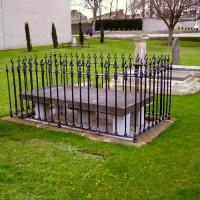 Grafsteen op Arbour Hill Cemetery