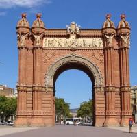 Triomfboog van Barcelona