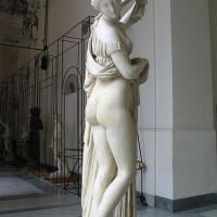 Marmeren beeld in het Museo Archeologico Nazionale